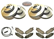 LAND ROVER DISCOVERY 3/4 2005> -TDV6 - FRONT and REAR - DISCS AND PAD SET
